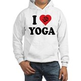 I Love Yoga Jumper Hoody