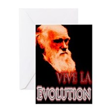 Vive La Evolution Greeting Card