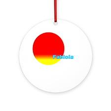 Fabiola Ornament (Round)