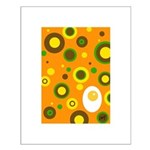 egg and dots Small Poster