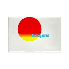 Ezequiel Rectangle Magnet