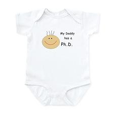 My Daddy has a PhD Infant Bodysuit