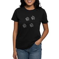 Dog Paw Prints Tee