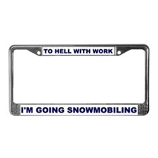 Cute Truck License Plate Frame