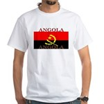 Angola Angolan Flag White T-Shirt