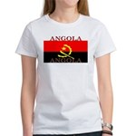 Angola Angolan Flag Women's T-Shirt