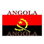 Angola Angolan Flag Postcards (Package of 8)