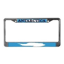 Antarctica Flag License Plate Frame