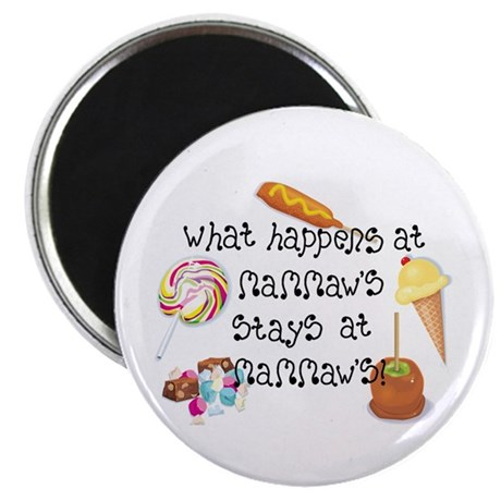 "What Happens at Mammaw's... 2.25"" Magnet (10 pack)"
