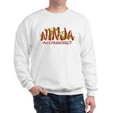 Dragon Ninja Accordionist Sweatshirt