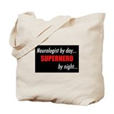 Superhero Neurologist Tote Bag