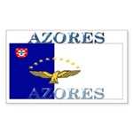 Azores Flag Rectangle Sticker