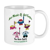 Ava Music Note Family Mug