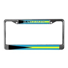 Bahamas Bahama Flag License Plate Frame
