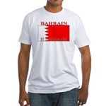 Bahrain Bahraini Flag Fitted T-Shirt