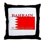 Bahrain Bahraini Flag Throw Pillow