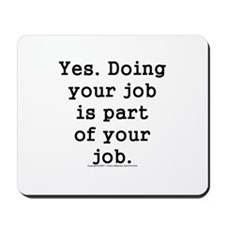 Human resources Mousepad