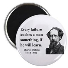 Charles Dickens 25 Magnet