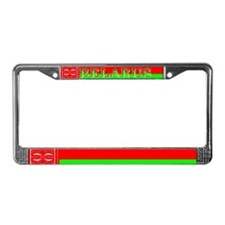 Belarus Belarussian Flag License Plate Frame