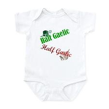 Half Gaelic Half Garlic Infant Bodysuit