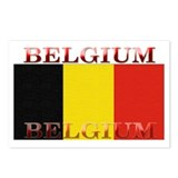 Belgium Belgian Flag Postcards (Package of 8)