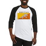 Bhutan Flag Baseball Jersey