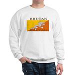 Bhutan Flag Sweatshirt