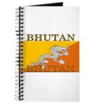 Bhutan Flag Journal