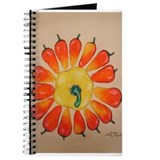 Hot Pepper Sunflower Journal