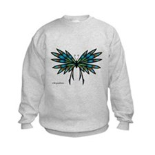 Copper Butterfly Sweatshirt