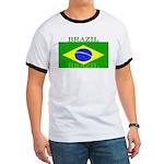Brazil Brazilian Flag Ringer T