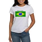 Brazil Brazilian Flag Women's T-Shirt