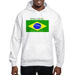 Brazil Brazilian Flag Hooded Sweatshirt