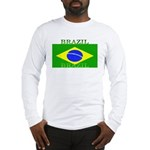 Brazil Brazilian Flag Long Sleeve T-Shirt