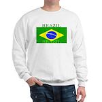 Brazil Brazilian Flag Sweatshirt
