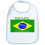 Brazil Brazilian Flag  Bib