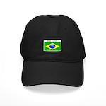 Brazil Brazilian Flag Black Cap