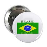 Brazil Brazilian Flag Button