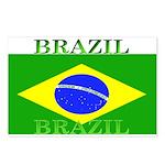 Brazil Brazilian Flag  Postcards (Package of 8)