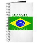 Brazil Brazilian Flag Journal