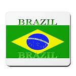 Brazil Brazilian Flag Mousepad