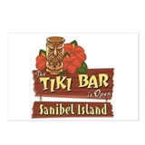 Sanibel Tiki Bar - Postcards (Package of 8)