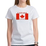 Canada Canadian Flag Women's T-Shirt