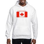 Canada Canadian Flag Hooded Sweatshirt