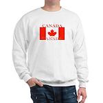 Canada Canadian Flag Sweatshirt