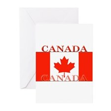 Canada Canadian Flag Greeting Cards (Pk of 10)
