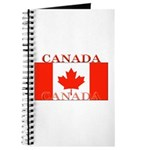 Canada Canadian Flag Journal
