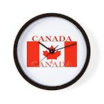 Canada Canadian Flag Wall Clock