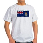 Cayman Islands Ash Grey T-Shirt