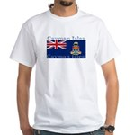 Cayman Islands White T-Shirt